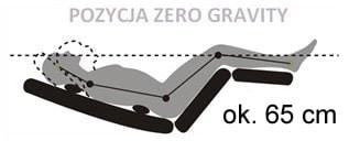 grawitacja leżaka Evolution