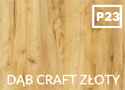 kolor P23 dąb craft złoty
